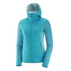 Salomon women Right Nice hybrid hoodie jacket med